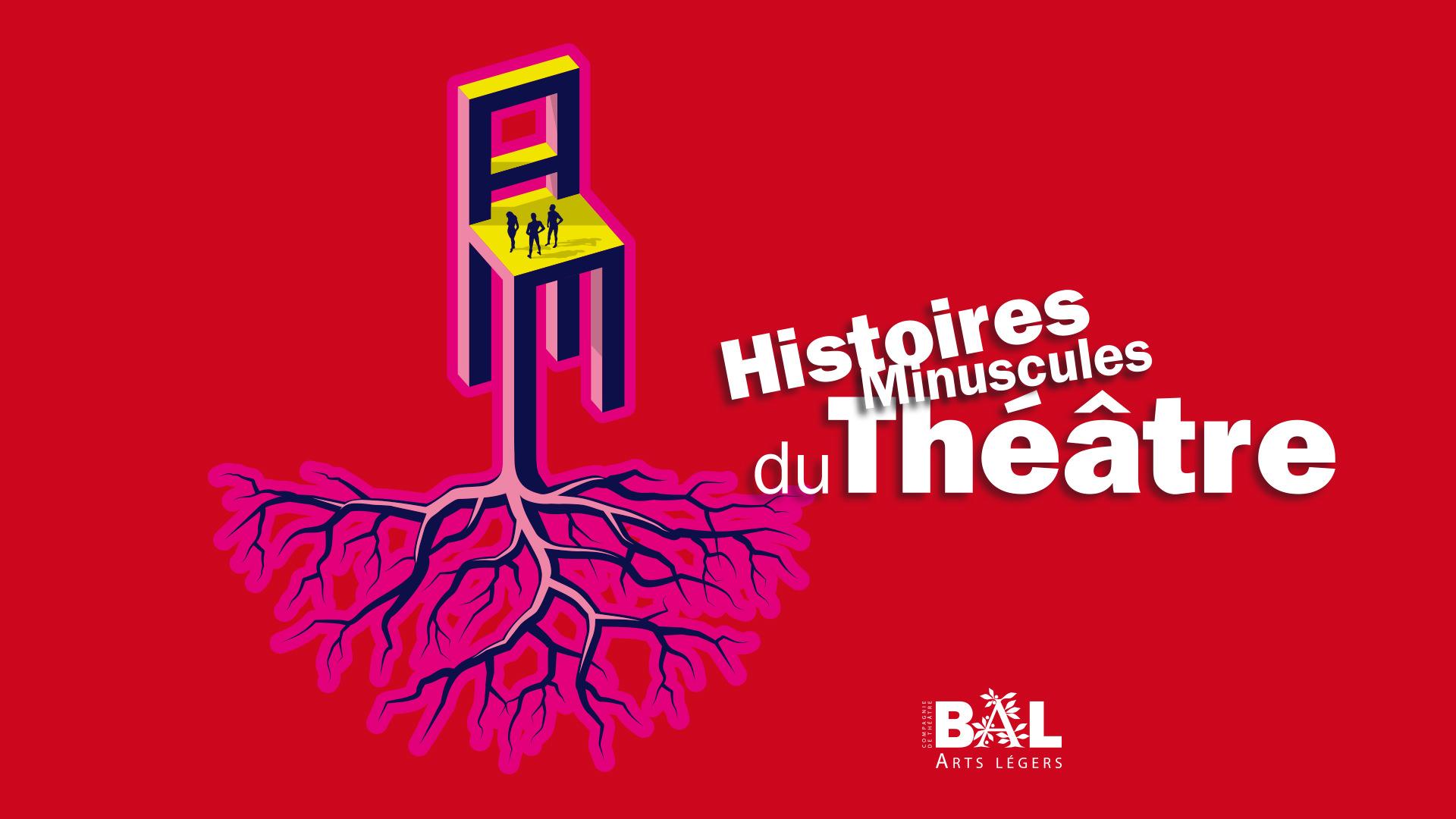 Affiche Histoires minuscules du théâtre © Jean-Marc Nigon