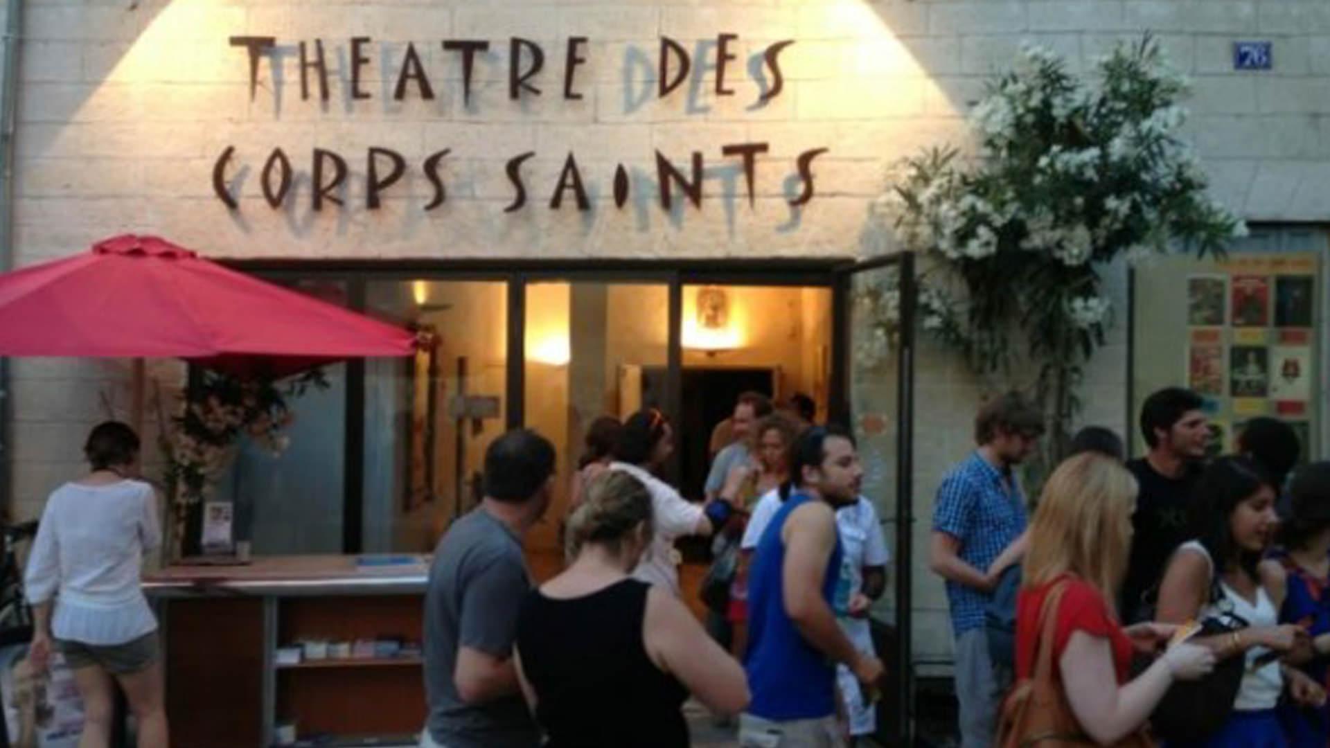 Première au Théâtre des Corps Saint - Festival d'Avignon © Claude Valenti