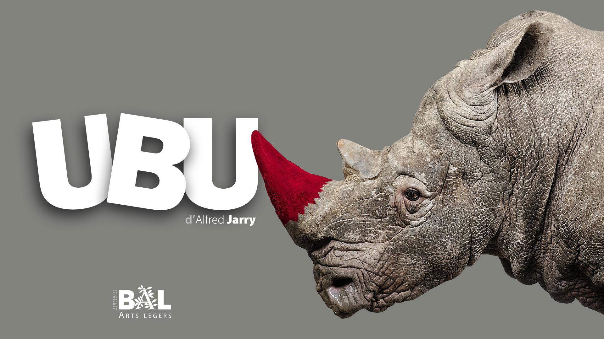 Affiche UBU d'Alfred Jarry © Jean-Marc Nigon