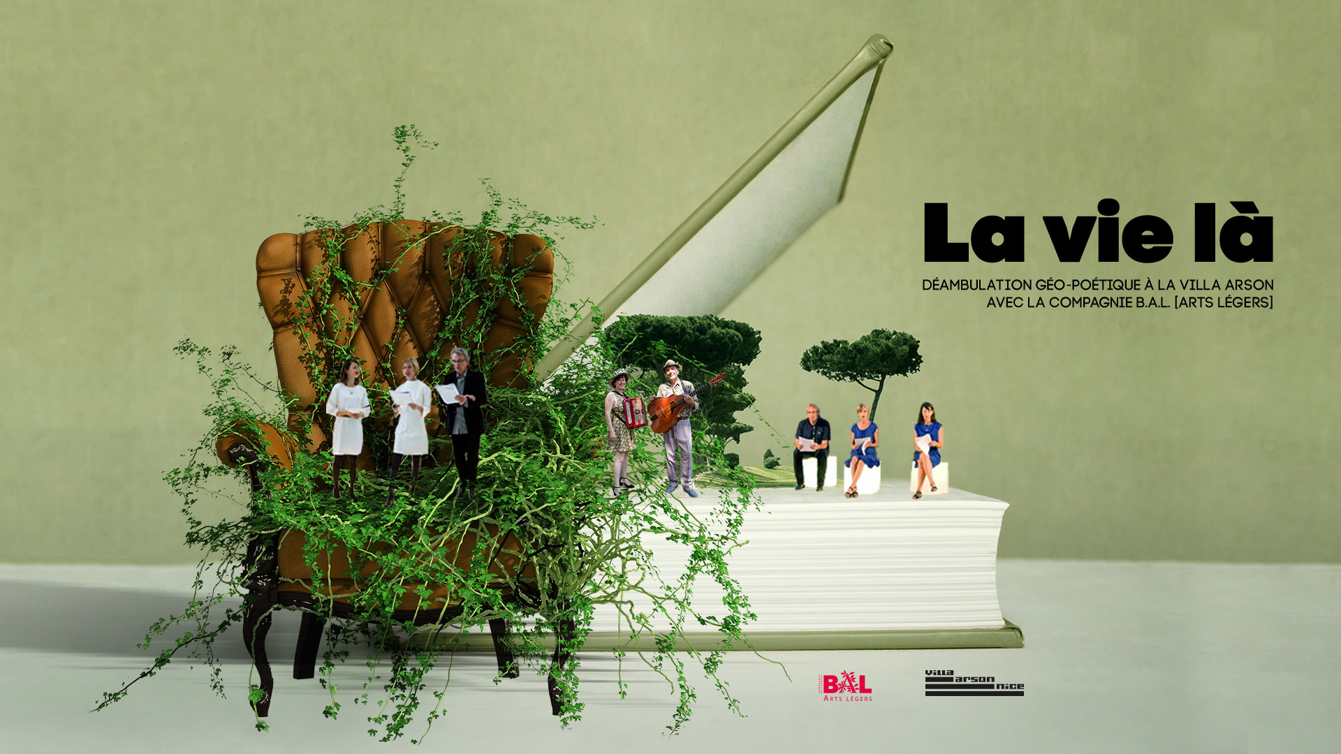 Lectures Musicales La vie là - Villa Arson