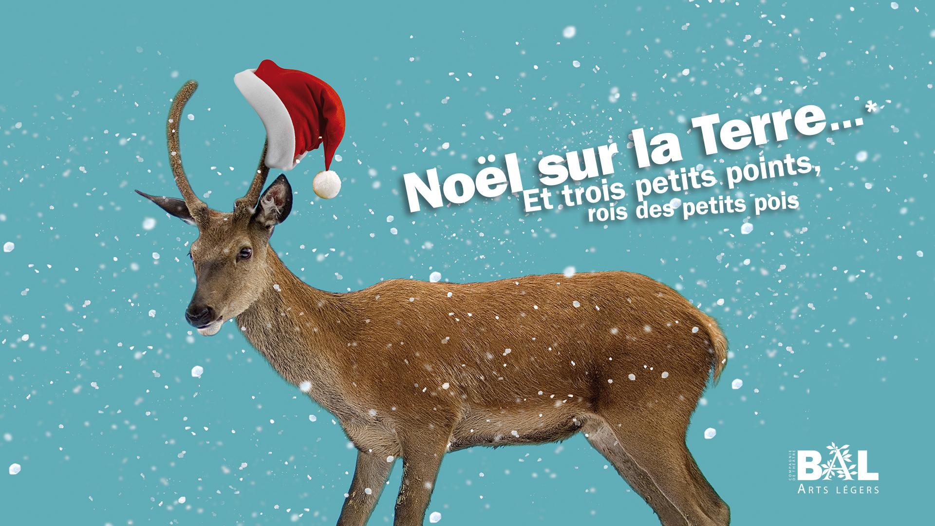 Affiche Noël sur la terre © Jean-Marc Nigon