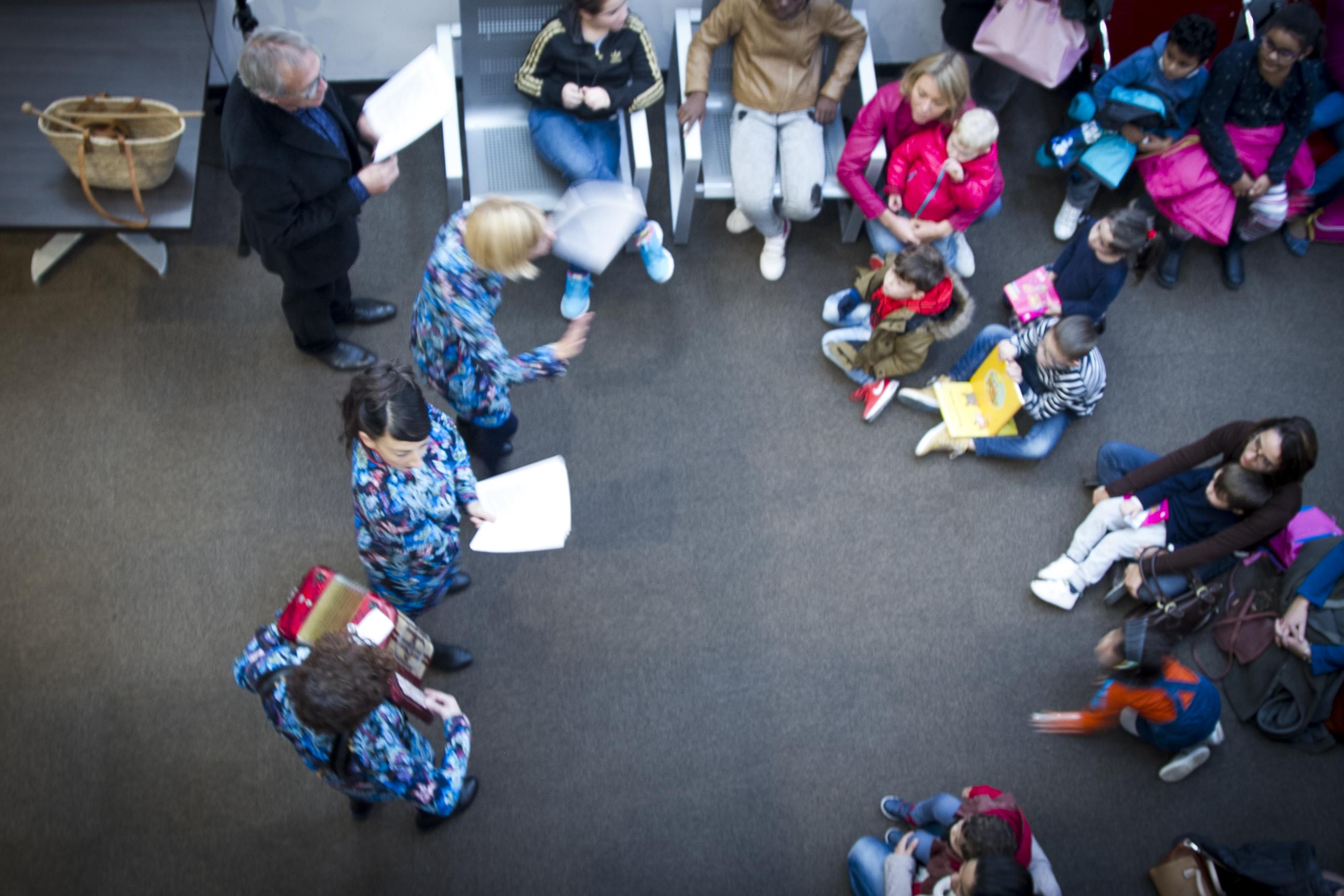 Lectures musicales — Le Cercle des Poètes Enfantins — à destination du jeune public