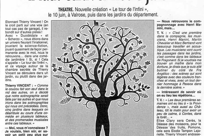 Le Patriote – Thierry Vincent en candide : il faut cultiver son jardin
